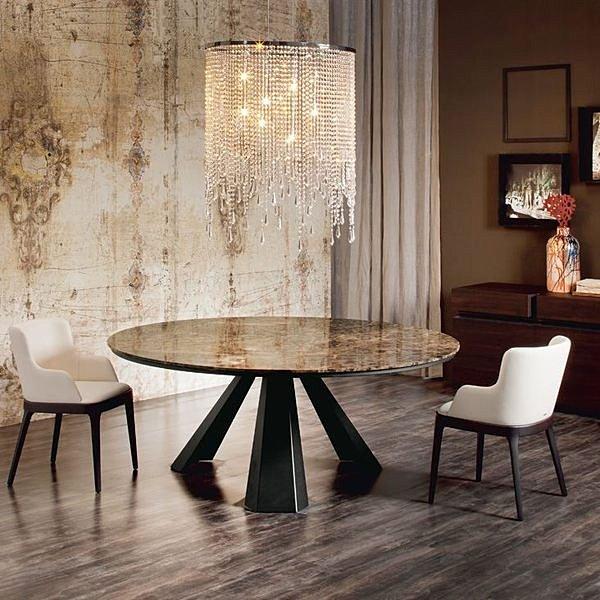 莱特 铁脚原木圆桌,北欧进口家具